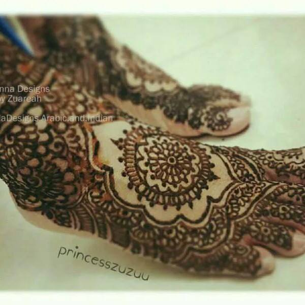Stylish & Trendy Arabic Mehandi Designs Collection for Hands & Feet 2015-2016 (17)