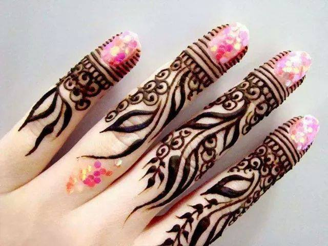 Stylish & Trendy Arabic Mehandi Designs Collection for Hands & Feet 2015-2016 (23)