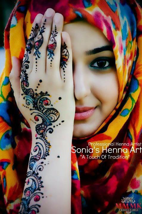 Stylish & Trendy Arabic Mehandi Designs Collection for Hands & Feet 2015-2016 (4)