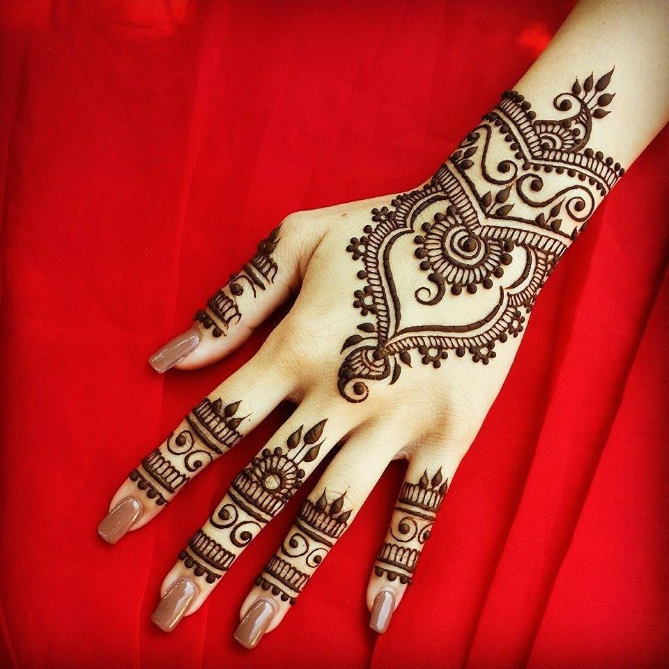 Mehndi design 2017 images -  Stylish Trendy Arabic Mehndi Designs 2017 2018 Collection