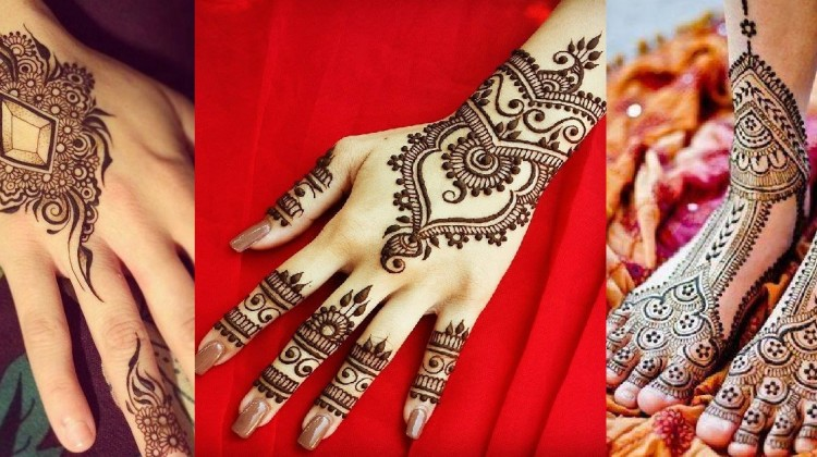 Stylish & Trendy Arabic Mehandi Designs Collection for Hands & Feet 2015-2016