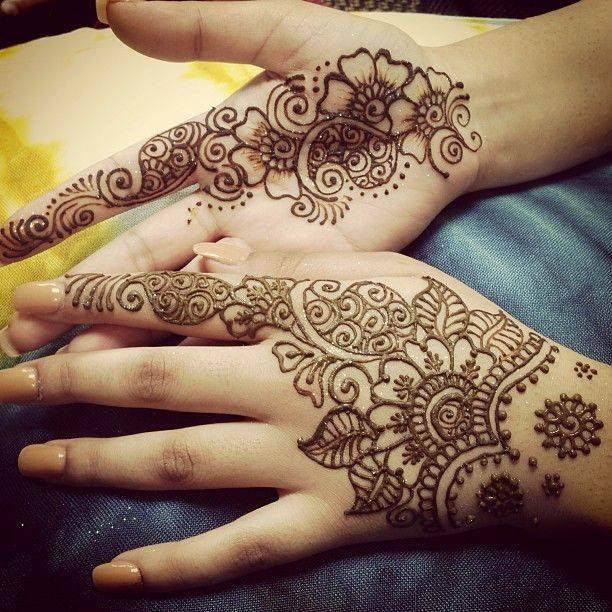 Stylish & Trendy Arabic Mehandi Designs Collection for Hands & Feet 2015-2016 (9)