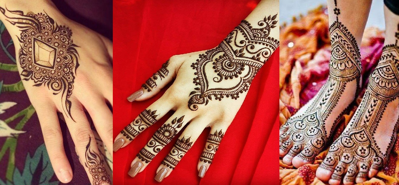 Mehndi Designs New Models : Best arabic mehndi designs collection for girls