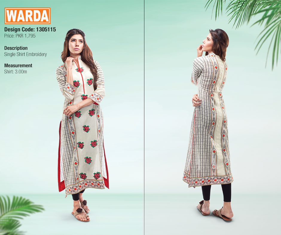 Warda Spring Summer Dresses Collection 2015-16