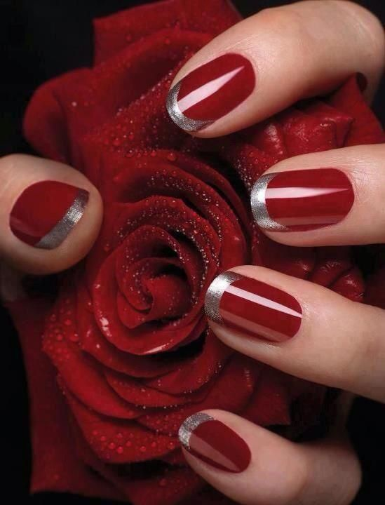 romantic nail art designsBest & Beautiful Nail Art Designs & Ideas to Spice up your Valentines Day Floral Nail Arts (5) - Copy