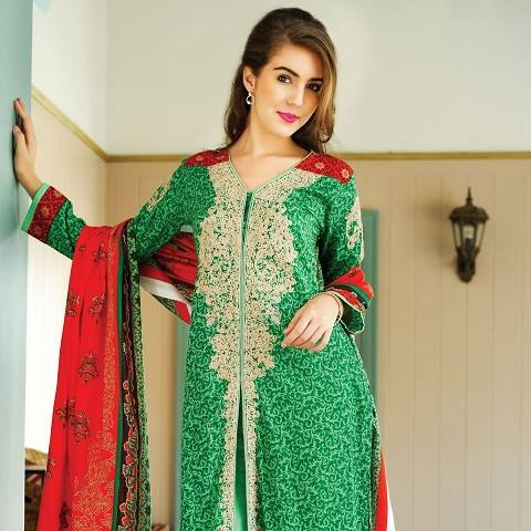 Latest Spring Summer Dresses Collections 2017-18 by Pakistani brands