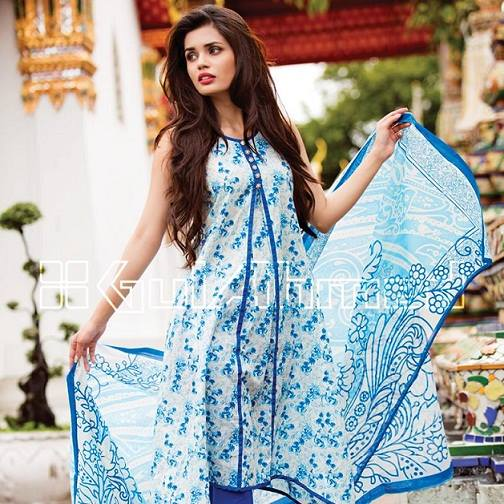 Summer spring designer dresses in pakistan