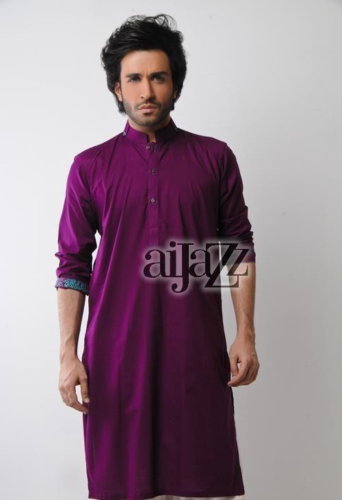 Latest Summer Fashion Men Kurta Shalwar Kameez Designs Collection 2015-2016 (1)