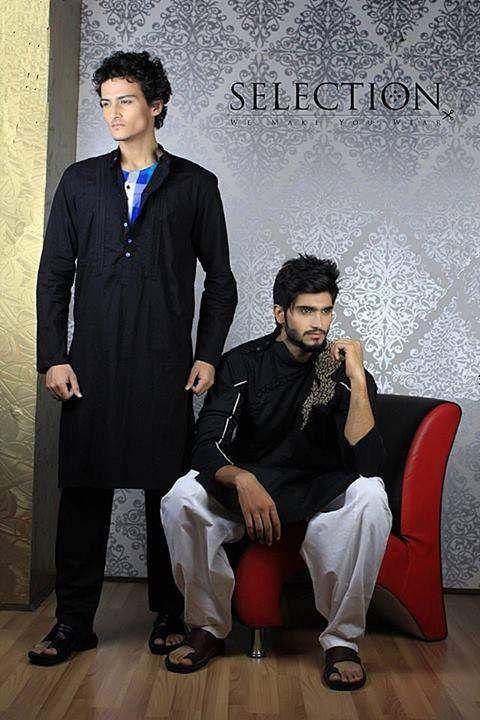Latest Summer Fashion Men Kurta Shalwar Kameez Designs Collection 2015-2016 (10)