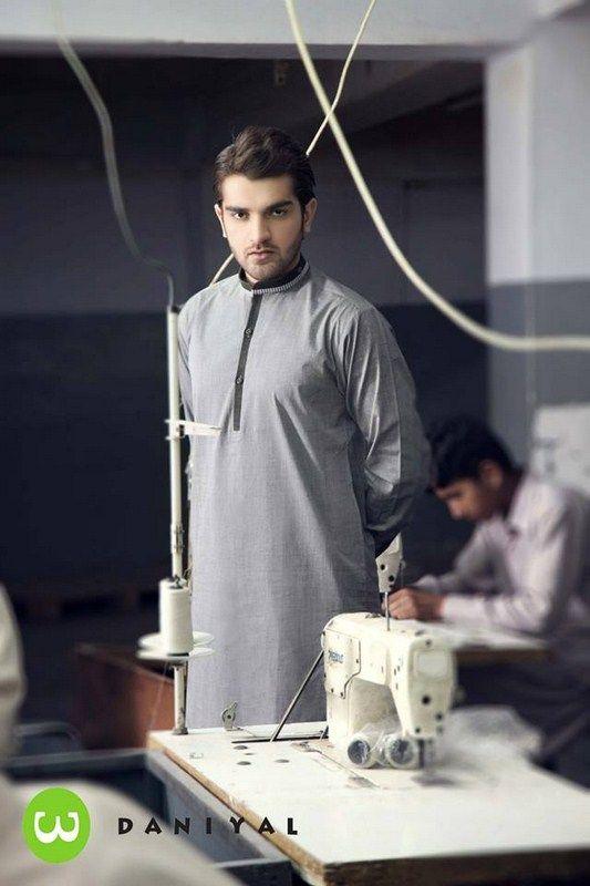 Latest Summer Fashion Men Kurta Shalwar Kameez Designs Collection 2015-2016 (18)