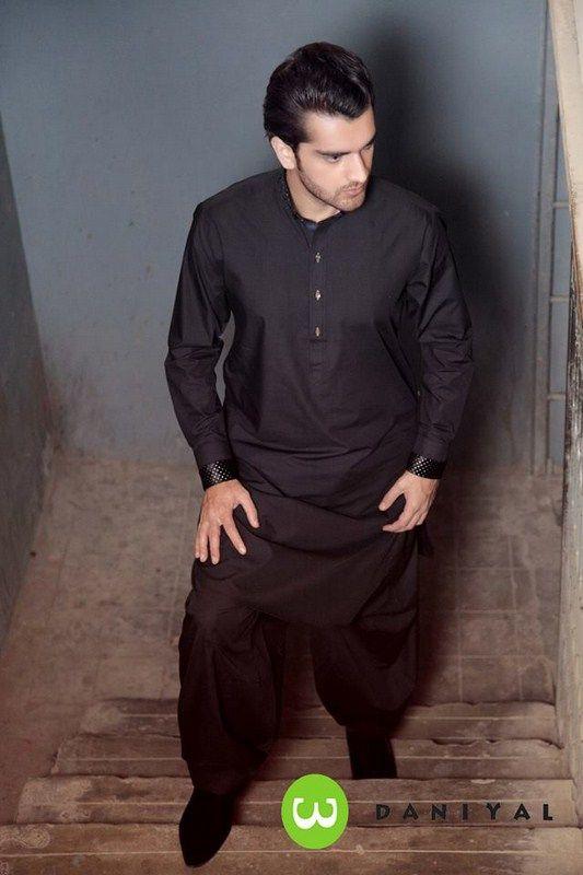 Latest Summer Fashion Men Kurta Shalwar Kameez Designs Collection 2015-2016 (20)