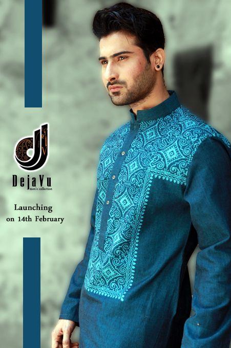 Latest Summer Fashion Men Kurta Shalwar Kameez Designs Collection 2015-2016 (24)