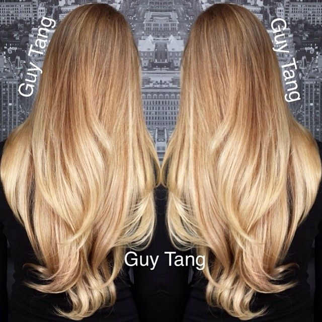 Latest Trends of Ombre Hairstyling, Coloring & Haircuts for Women 2015-2016 (1)