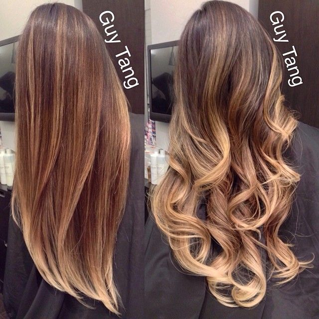 Latest Trends of Ombre Hairstyling, Coloring & Haircuts for Women 2015-2016 (11)