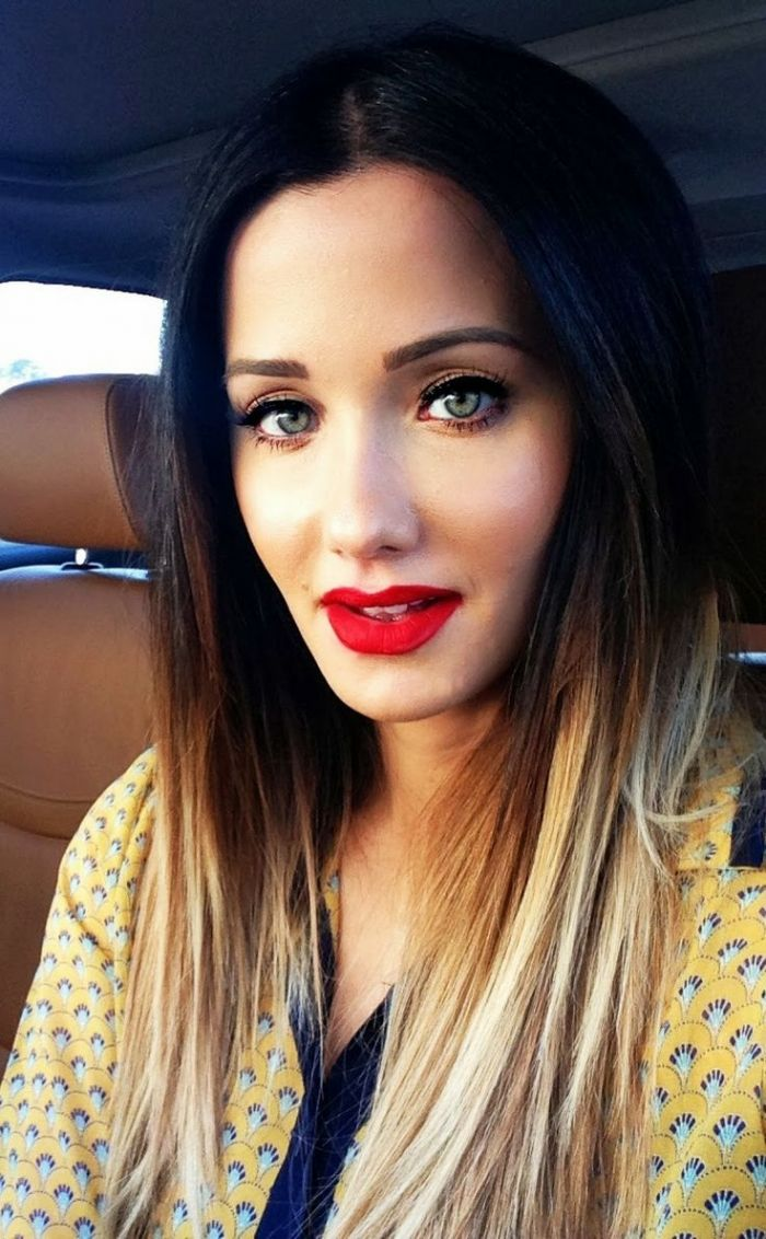 Latest Trends of Ombre Hairstyling, Coloring & Haircuts for Women 2015-2016 (15)