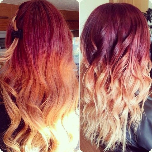Latest Trends of Ombre Hairstyling, Coloring & Haircuts for Women 2015-2016 (21)