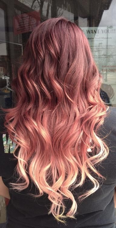 Latest Trends of Ombre Hairstyling, Coloring & Haircuts for Women 2015-2016 (25)