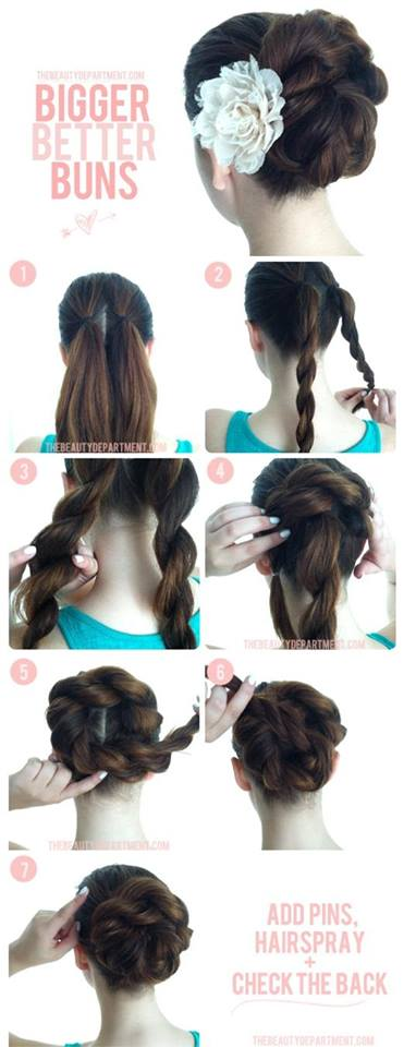 Step By Best Party Wear Hairstyles Tutorial Looks Ideas With Pictures