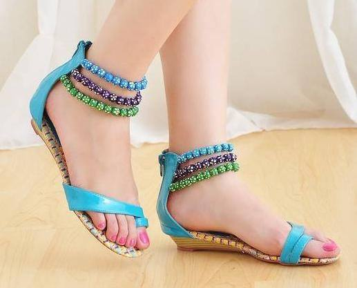 Stylo Shoes Latest Women Footwear Designs Summer Spring Collection 2015 (6)