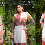 Zeniya Lawn Ready To Wear Dresses Summer Spring collection 2015