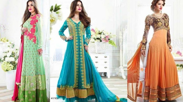 Indian Latest Anarkali Suits Collection by Natasha Couture
