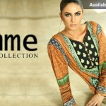 Lala Textiles Embroidered Lawn Dresses Kurtis Summer Collection 2015