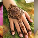 Latest Beautiful Eid Mehndi Designs Collection 2016-2017 for Girls