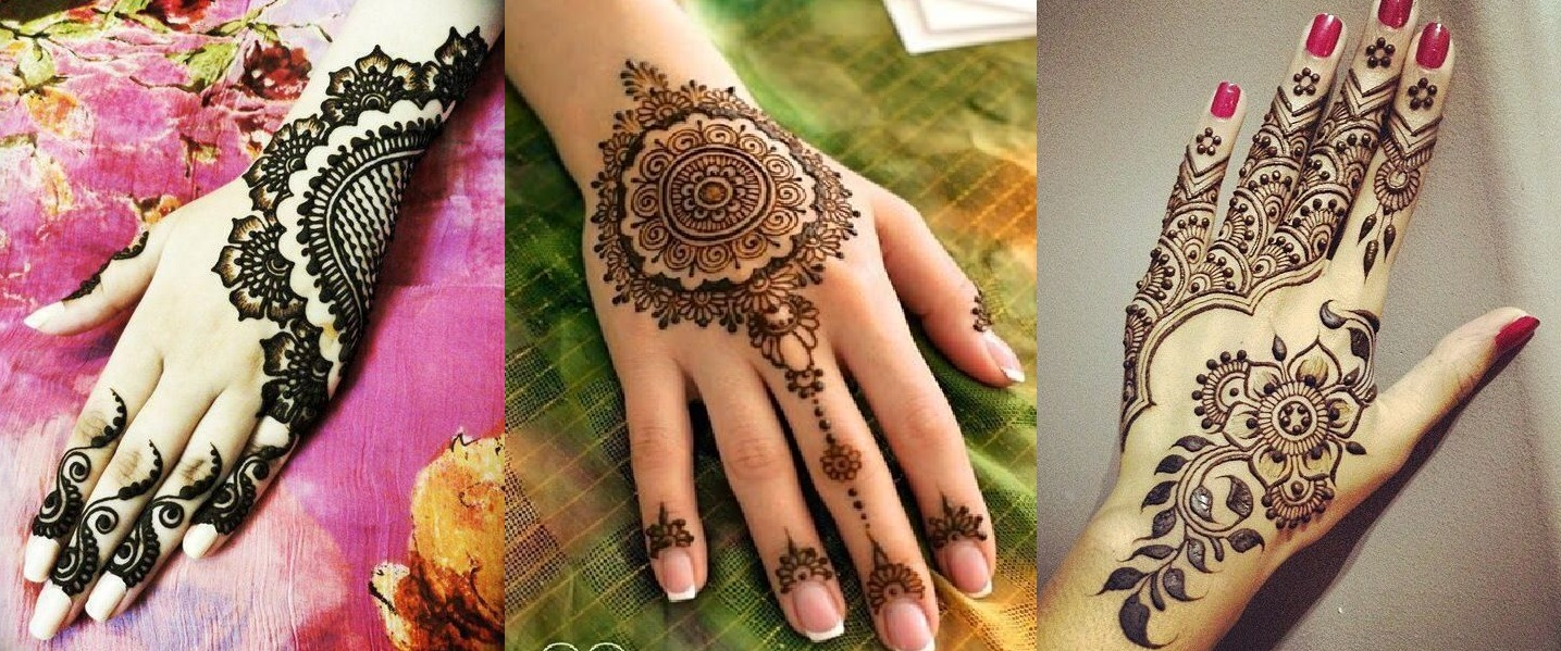 Mehndi design 2017 eid - Latest Eid Mehndi Designs For Hands Feet Collection 2015 201 1