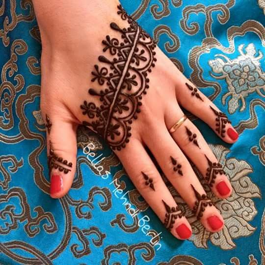 Latest Eid Mehndi Designs for Hands Feet Collection 2015-201 (10)