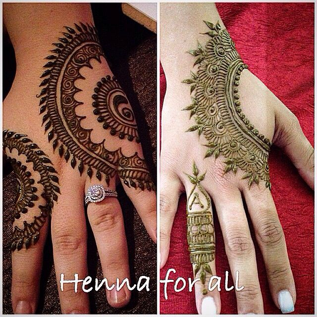 Latest Eid Mehndi Designs for Hands Feet Collection 2015-201 (2)