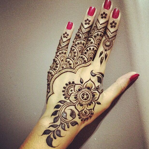 Mehndi Designs For Upper Hands : Latest beautiful eid mehandi designs collection