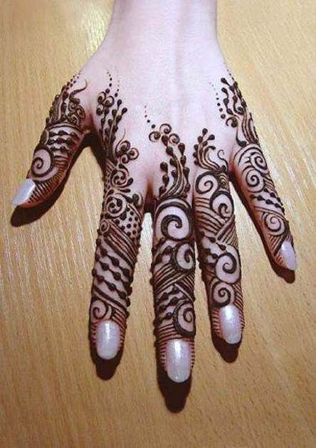 Latest Eid Mehndi Designs for Hands Feet Collection 2015-201 (26)