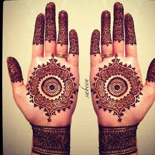 Latest Eid Mehndi Designs for Hands Feet Collection 2015-201 (31)