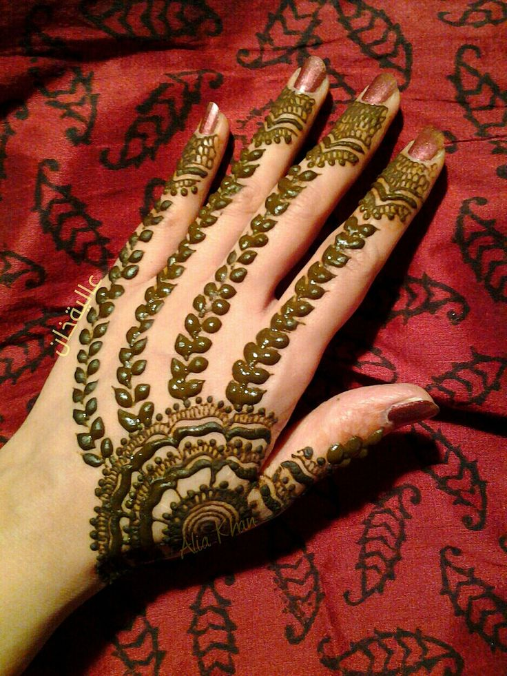 Mehndi Designs For Hands Eid : Latest beautiful eid mehandi designs collection