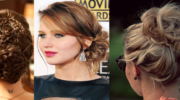 top 10 most popular bun hairstyles 2015