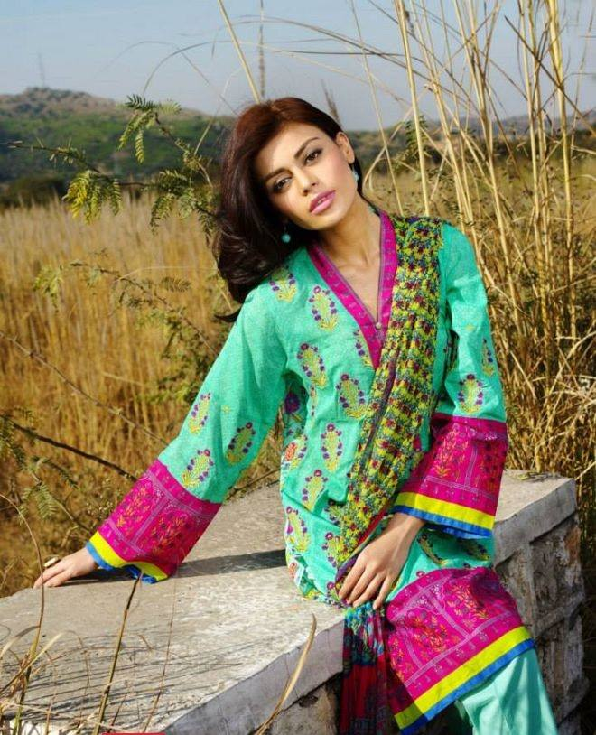 Khaadi Summer Lawn Dresses Collection 2015-2016 for women