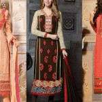 Latest Straight Cut Salwar Kameez Suits 2018-19 Collection by Natasha Couture