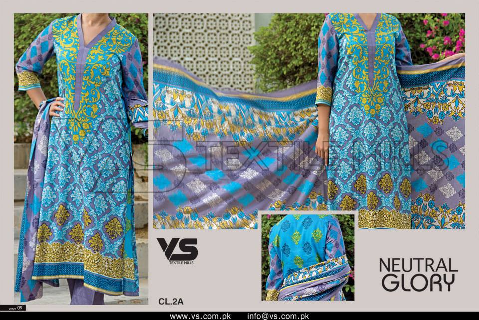 VS Textile Mills Vadiwala Classic Lawn Embroidered Chiffon Collection 2015-2016 (19)