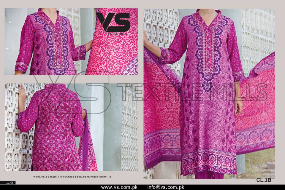 VS Textile Mills Vadiwala Classic Lawn Embroidered Chiffon Collection 2015-2016 (34)