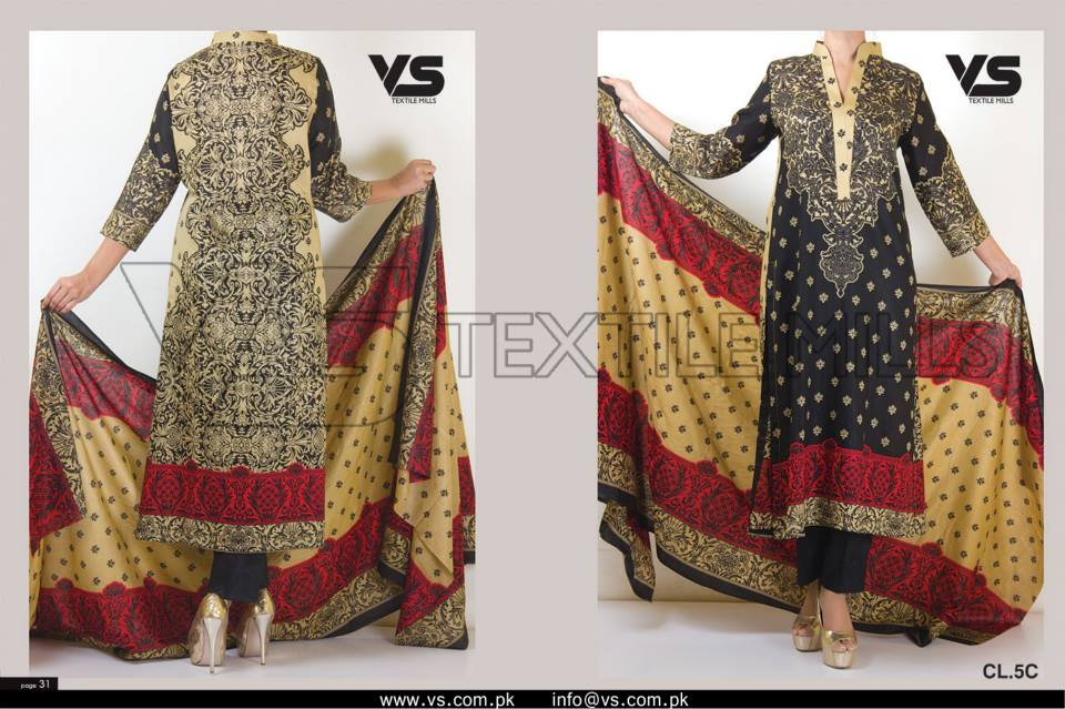 VS Textile Mills Vadiwala Classic Lawn Embroidered Chiffon Collection 2015-2016 (35)