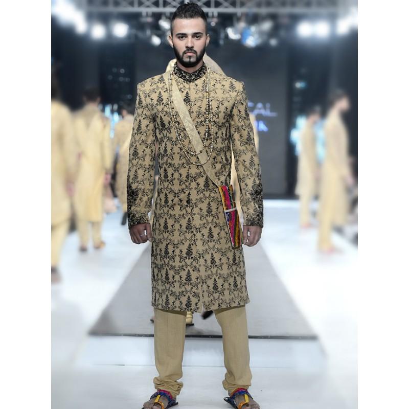 HSY Men Wedding Dresses Sherwani Designs Collection 2015-2016 (11)