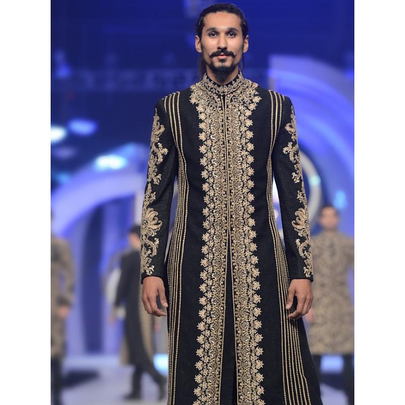 HSY Men Wedding Dresses Sherwani Designs Collection 2015-2016 (16)
