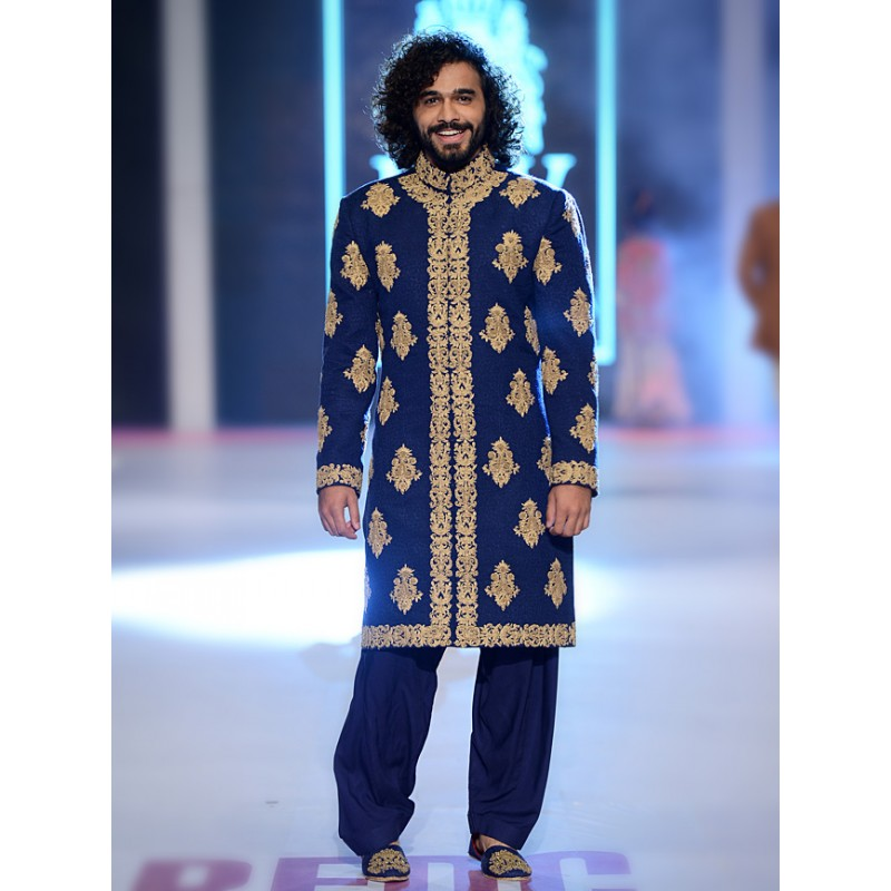 HSY Men Wedding Dresses Sherwani Designs Collection 2015-2016 (18)