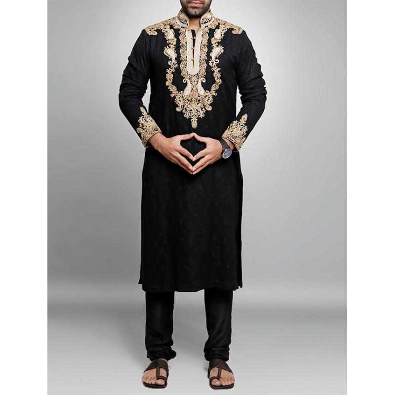 HSY Men Wedding Dresses Sherwani Designs Collection 2015-2016 (20)