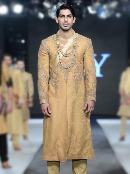 HSY Men Wedding Dresses Sherwani Designs Collection 2015-2016 (6)