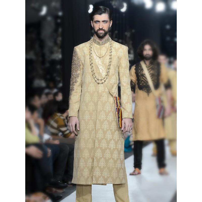 HSY Men Wedding Dresses Sherwani Designs Collection 2015-2016 (7)