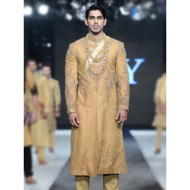 HSY Men Wedding Dresses Sherwani Designs Collection 2015-2016 (9)