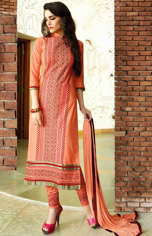 Latest Indian Designer Churidar Suits Salwar Kameez Collection 2015-2016 (10)