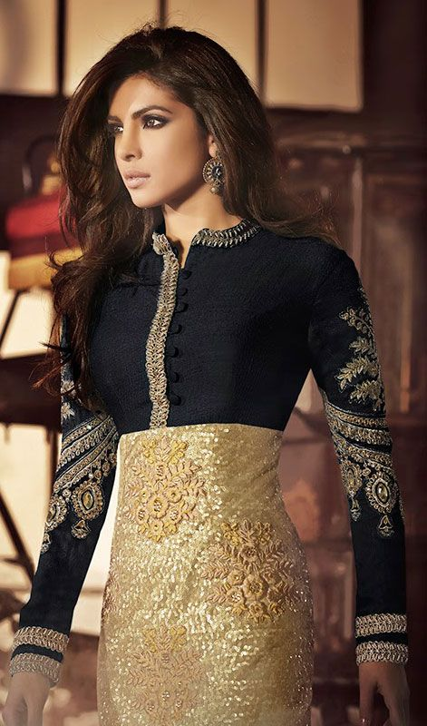 Latest Indian Designer Churidar Suits Salwar Kameez Collection 2015-2016 (19)