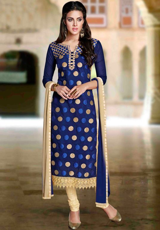 Latest Indian Designer Churidar Suits Salwar Kameez Collection 2015-2016 (2)